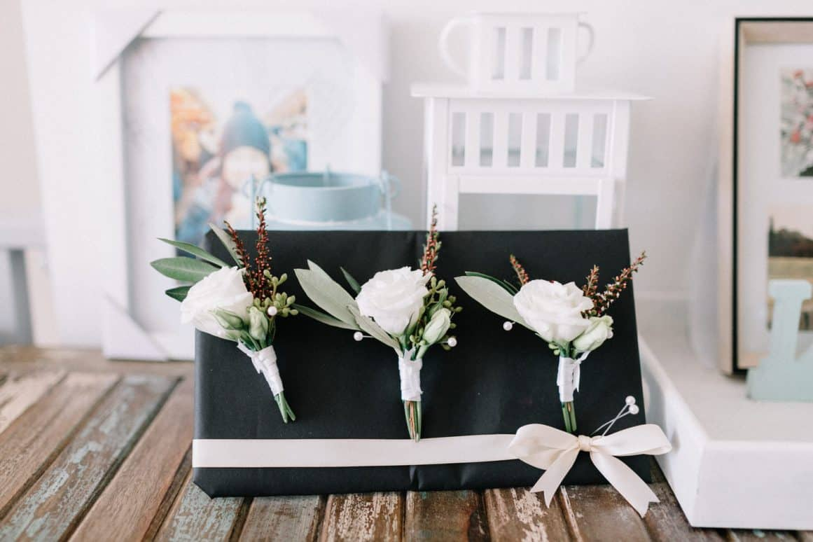 Ash + Kim, Ballast Point Park and The Royal Oak Hotel, Balmain, Sydney Wedding Flowers