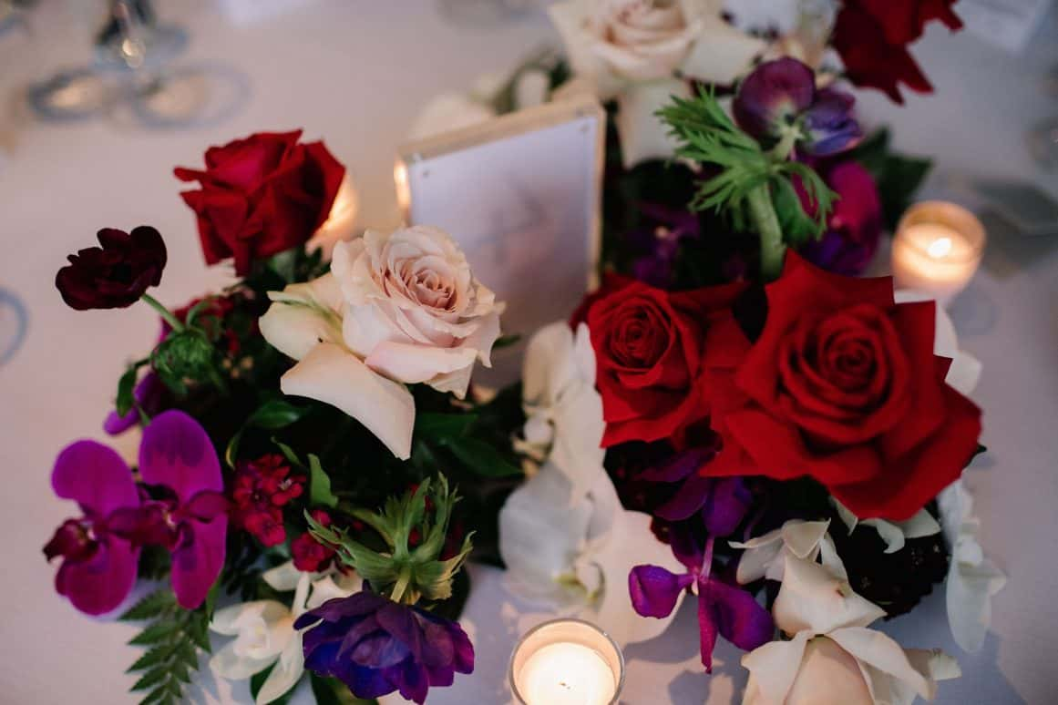 Steph and Sam Sydney Quay Wedding Flowers David Campbell Photography