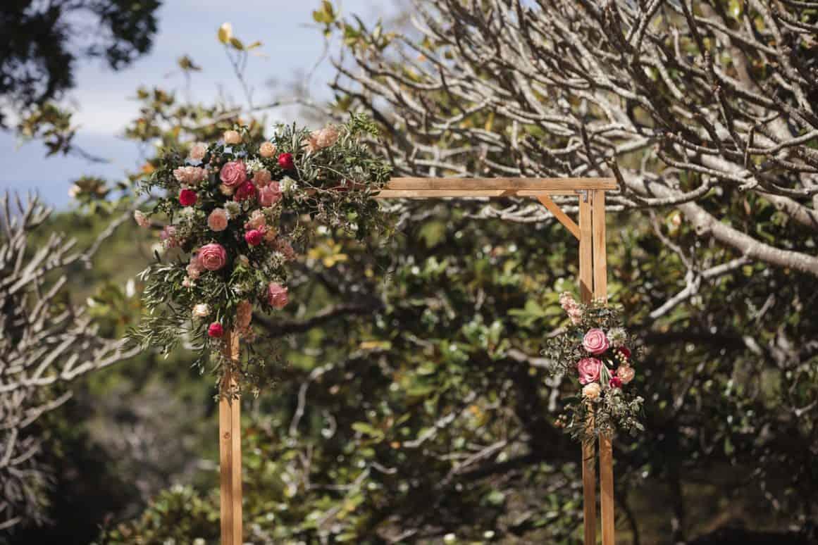 Wedding Ceremony Greycliffe Garden Sydney Vaucluse Nielsen Park