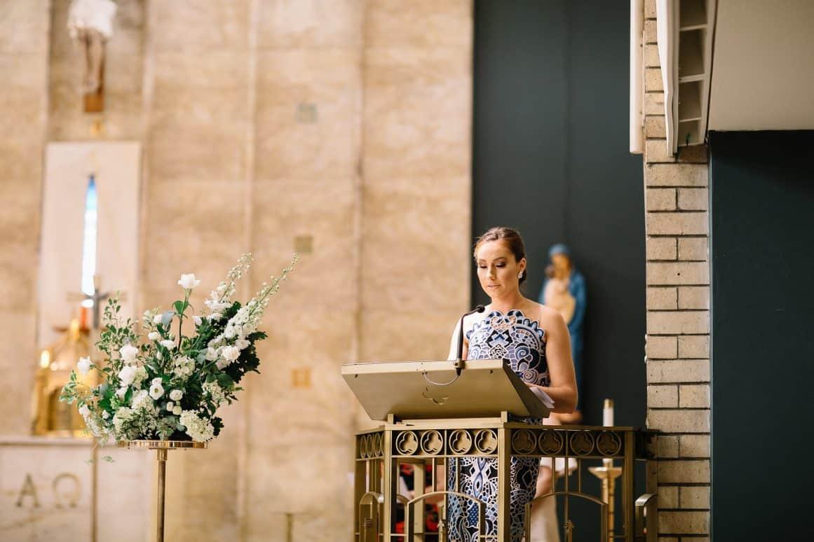 Wedding Ceremony St Joan of Arc Catholic Parish Haberfield Church Sydney