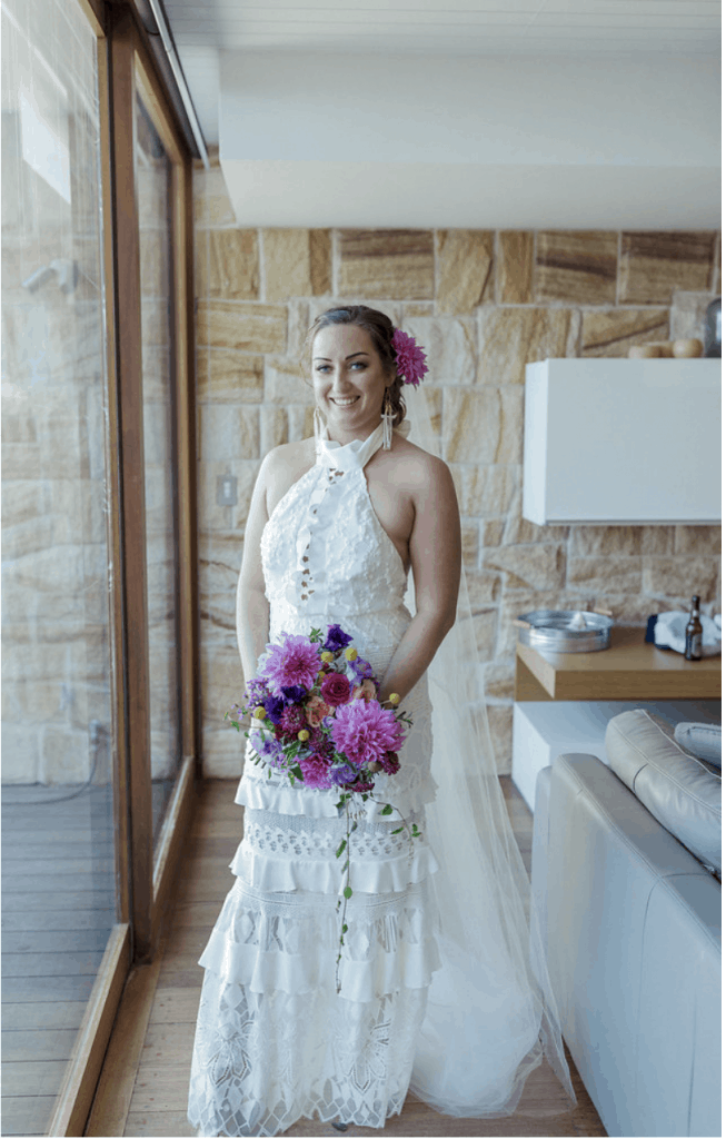 ash Dave wedding manly boathouse shelly beach Sydney