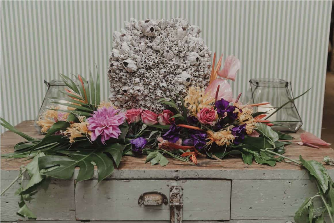 ash dave wedding shelly beach boathouse manly sydney flowers stylist 2
