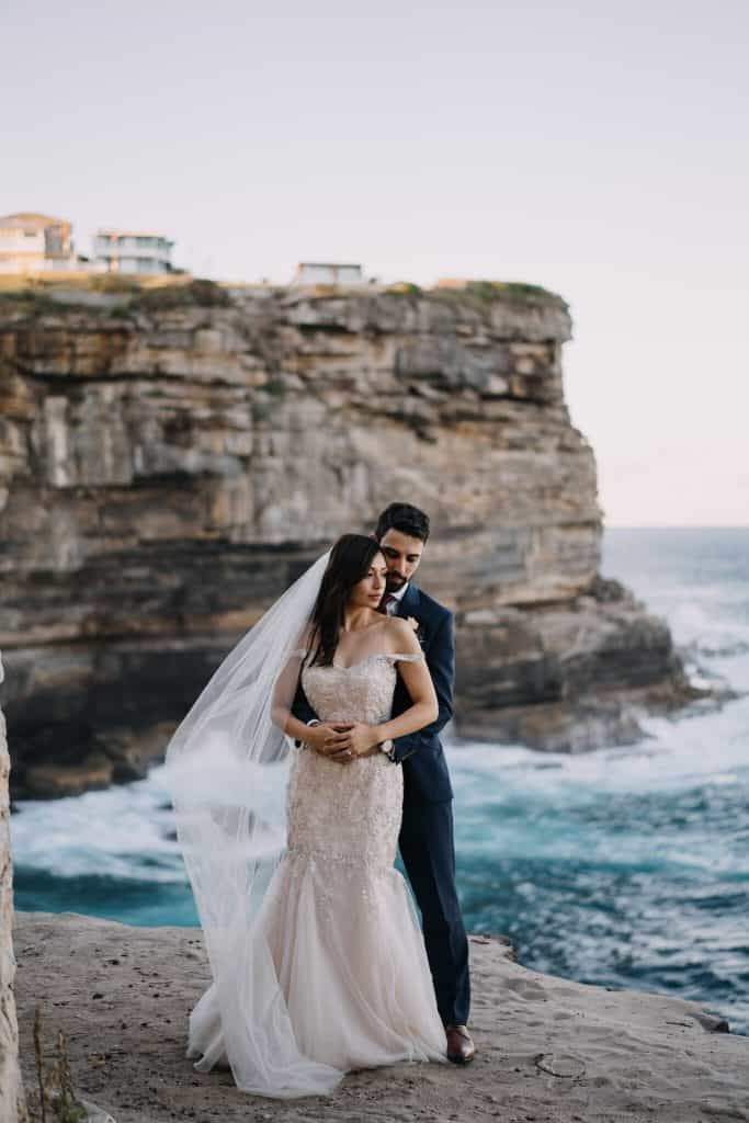 maria michael wedding dunbar house watsons bay ceremony hire packages