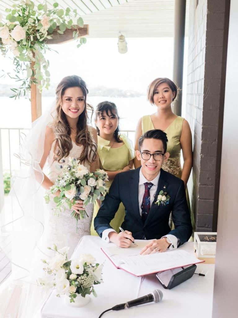 sydney wedding sergeants mess mosman ceremony flower packages_33