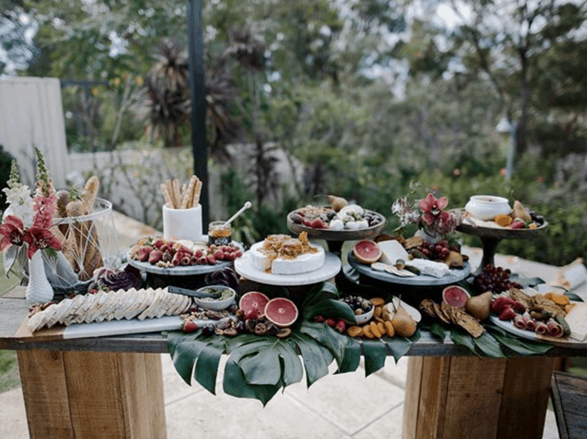 grazing table sydney wedding ceremony hire packages prices
