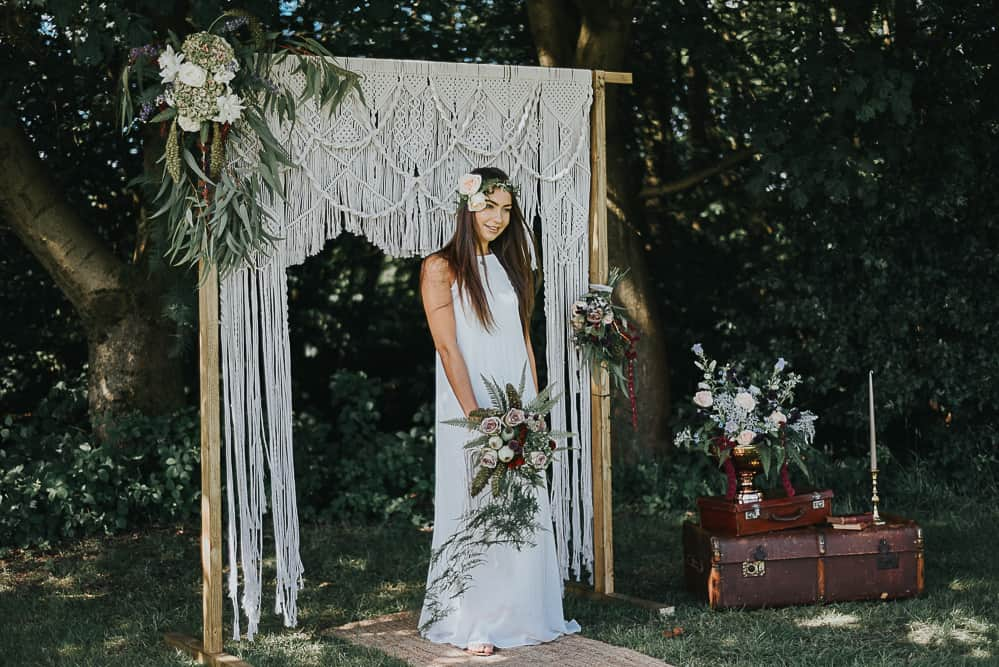 sydney wedding ceremony packages hire price boho macrame arch styling 1