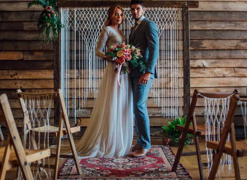 sydney wedding ceremony packages hire price boho macrame arch