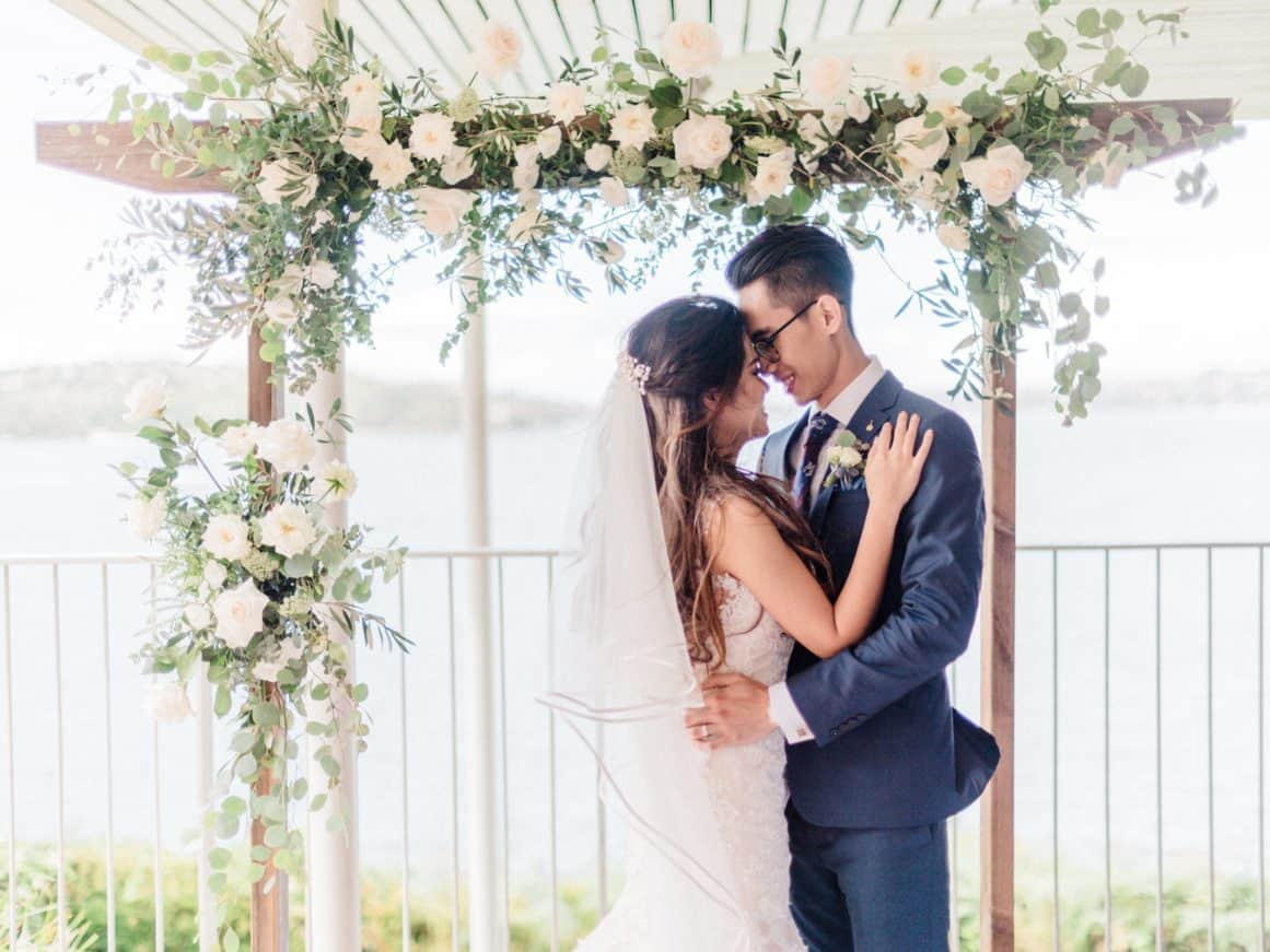sydney wedding ceremony packages prices rustic arch arbour sergeants mess