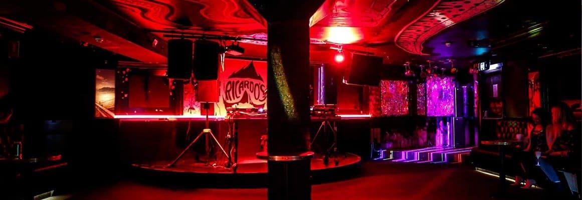 tokyo sing song wedding venue night club alternative grunge reception different