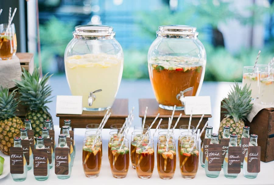 sydney wedding drinks station hire packages prices ceremony