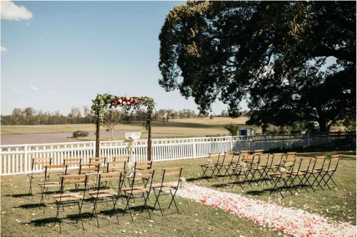 sydney wedding hire ceremony packages furniture garden outdoor rustic arch price copy
