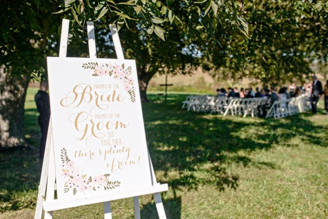 sydney wedding hire ceremony packages personalised signage welcome board unplugged 1