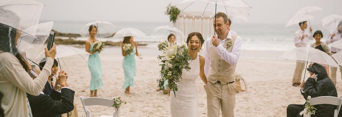 wedding ceremony hire packages prices south coast jervis bay