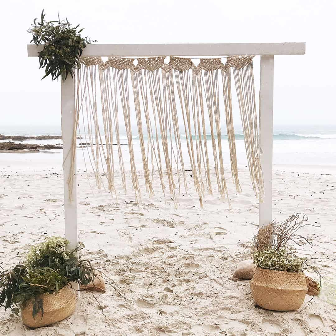 Macrame Arbour Dressing - 1.4m 2 available