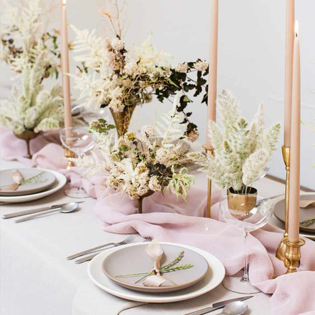 Chiffon table runners - Various colours and sizes available