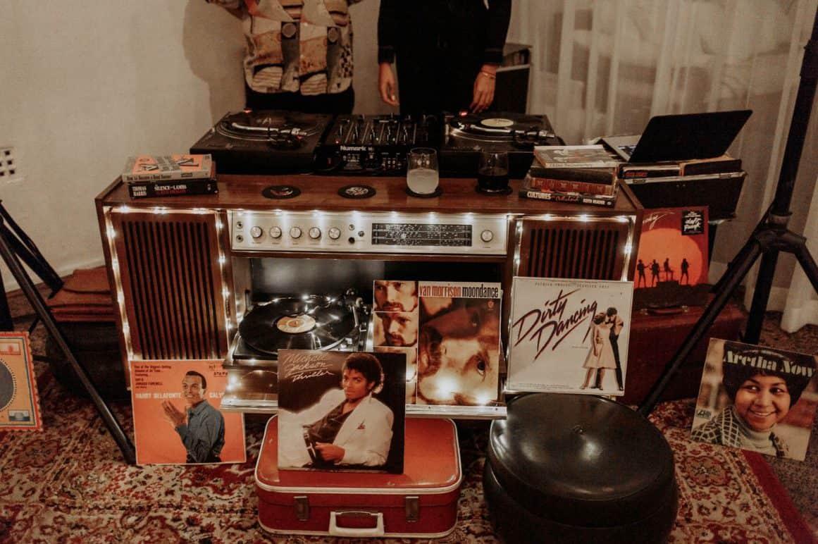 sydney-wedding-venue-warehouse-freedom-hub-vinyl-record-player