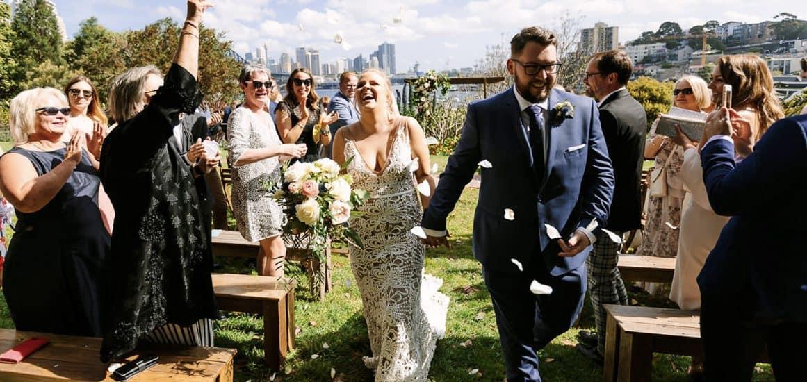 wedding sydney cermeony kirabilli wendy secret garden