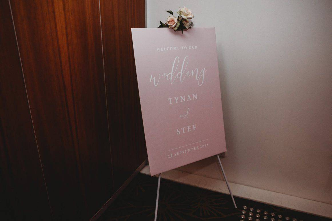 wedding-sydney-custome-welcome-board-pink-blush-price