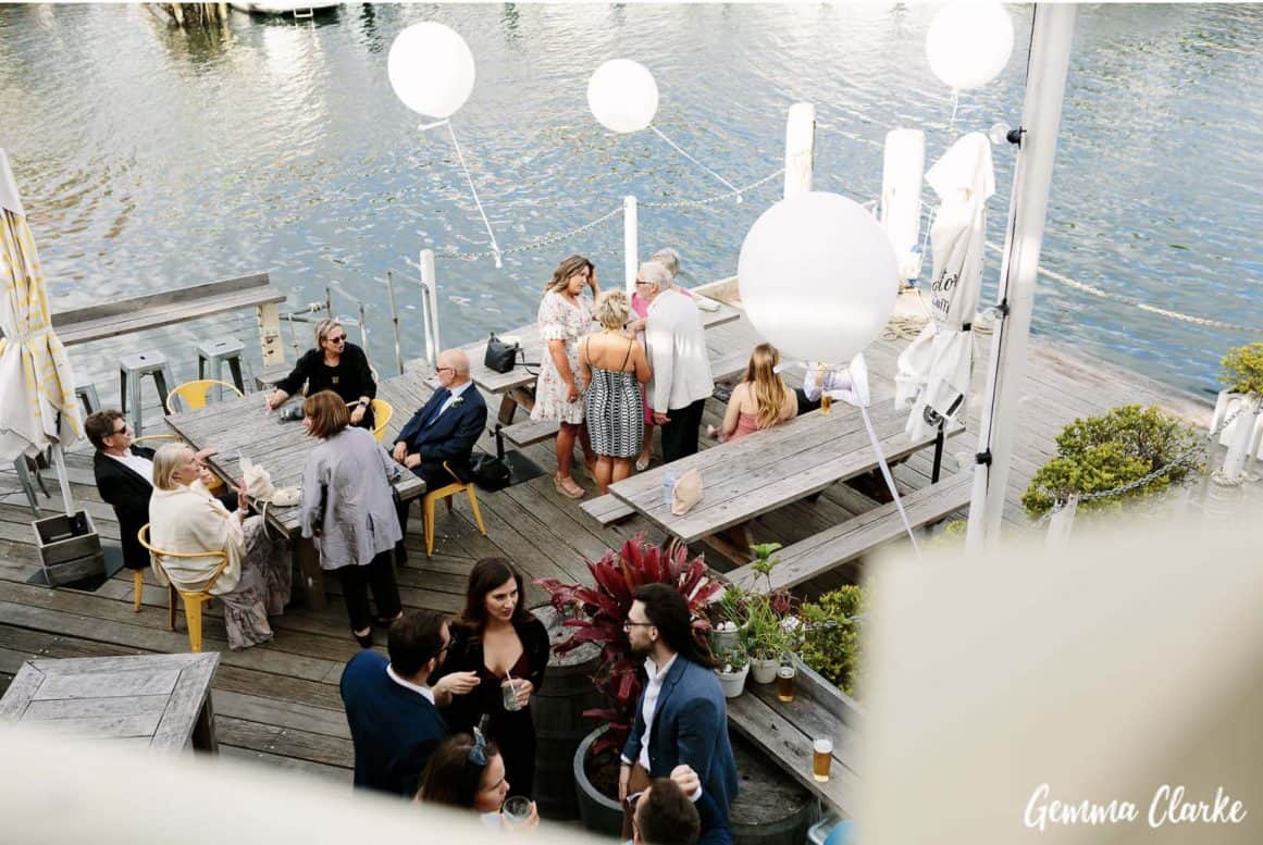 sydney-wedding-reception-packages-flying-squadron-kirribillii-cocktails-balcony