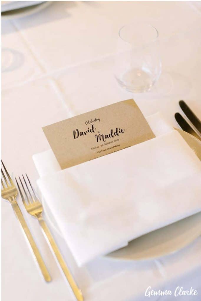 sydney-wedding-reception-packages-flying-squadron-kirribillii-placecard