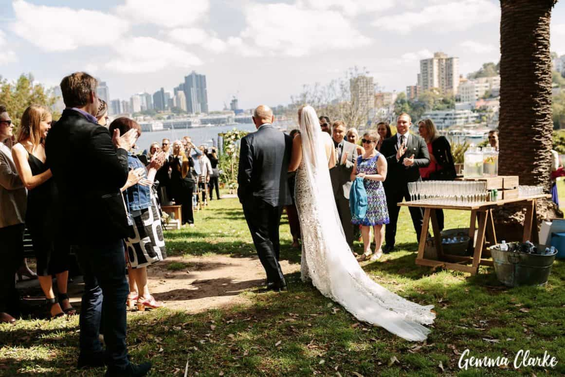 wedding-ceremony-hire-packages-lavender-bay-clark-park-sydney-aisle