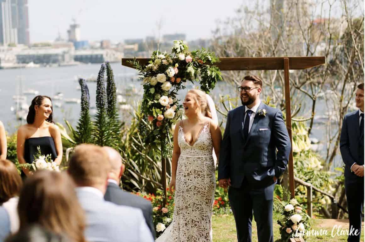 wedding-ceremony-hire-packages-lavender-bay-clark-park-sydney-family-watching