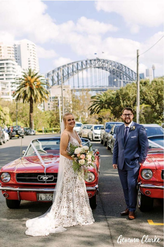 wedding-ceremony-hire-packages-lavender-bay-clark-park-sydney-habour-bridge