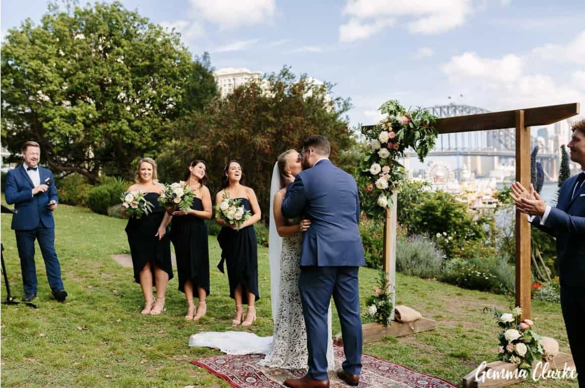 wedding-ceremony-hire-packages-lavender-bay-clark-park-sydney-married