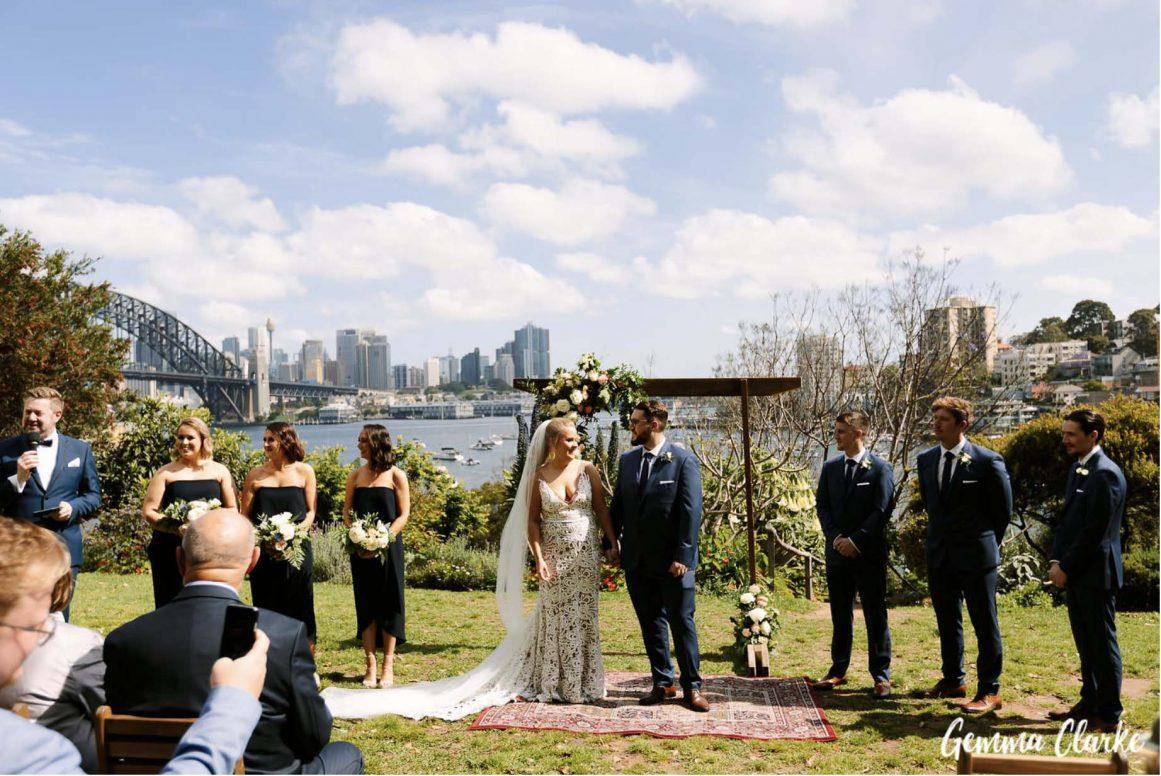 wedding-ceremony-hire-packages-lavender-bay-clark-park-sydney-set-up
