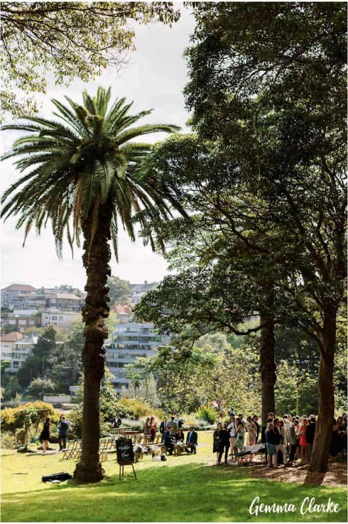 wedding-ceremony-hire-packages-lavender-bay-clark-park-sydney-wendys-garden