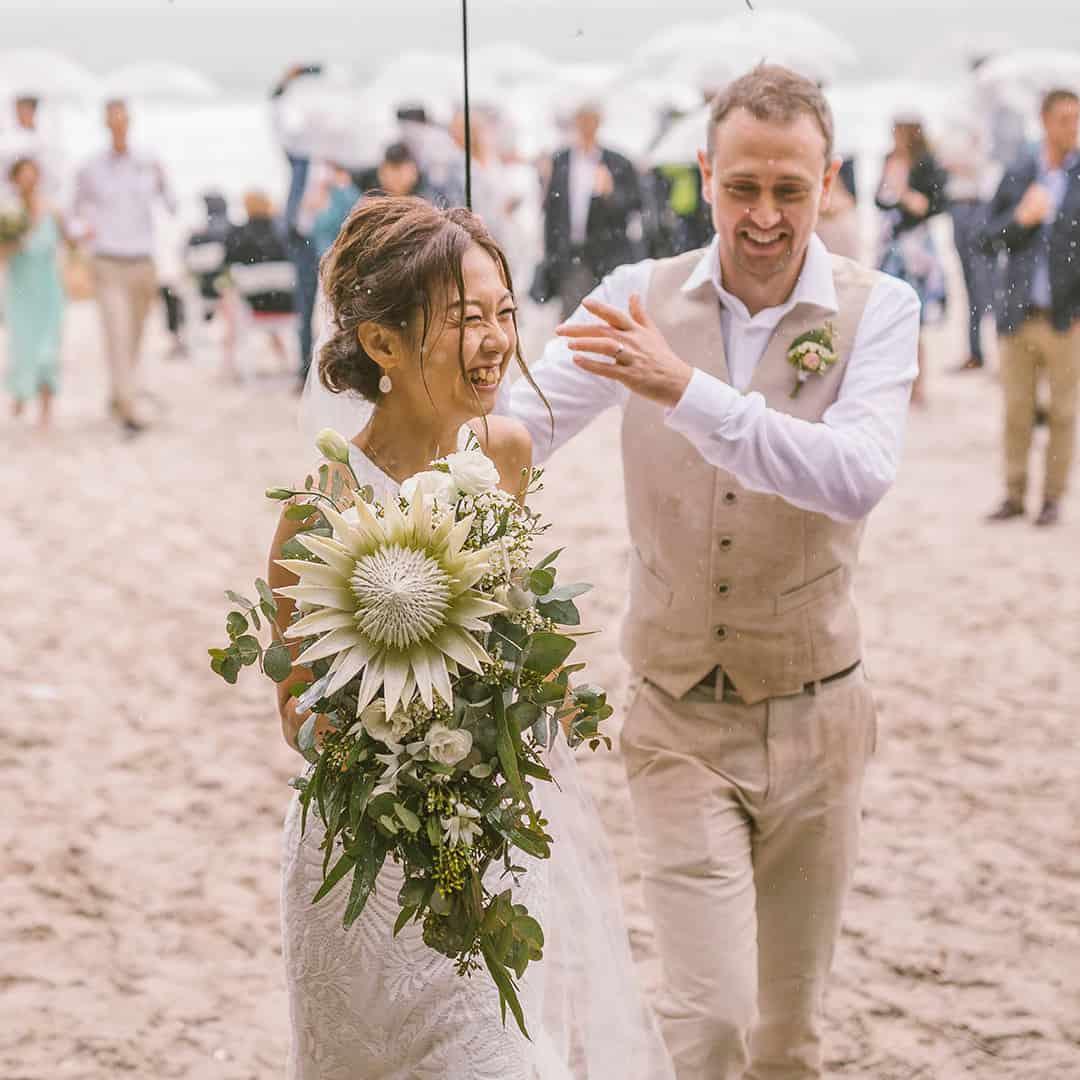 bouquet king protea natives australian sydney florist wedding