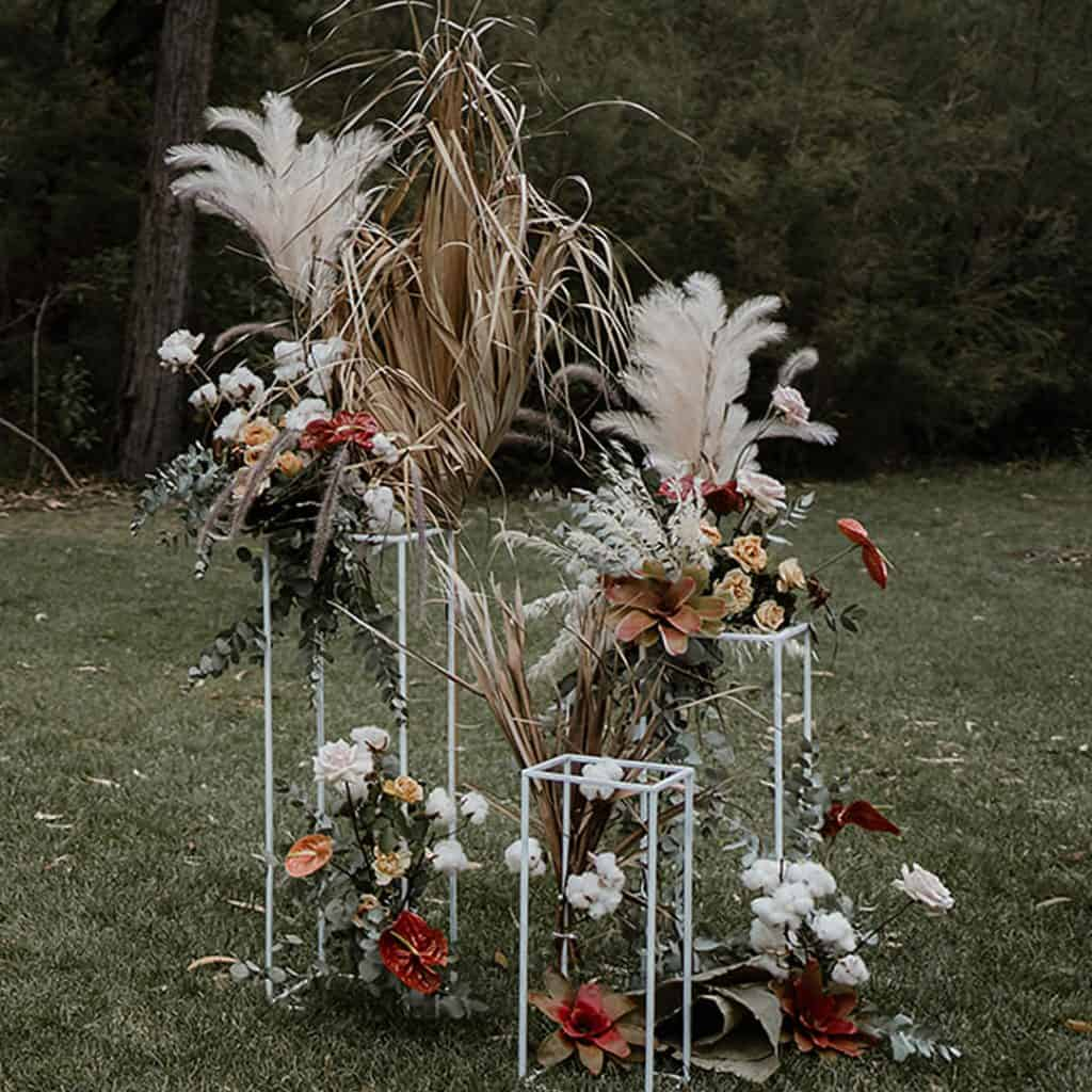 wedding cermeony pampas grass sydney packages