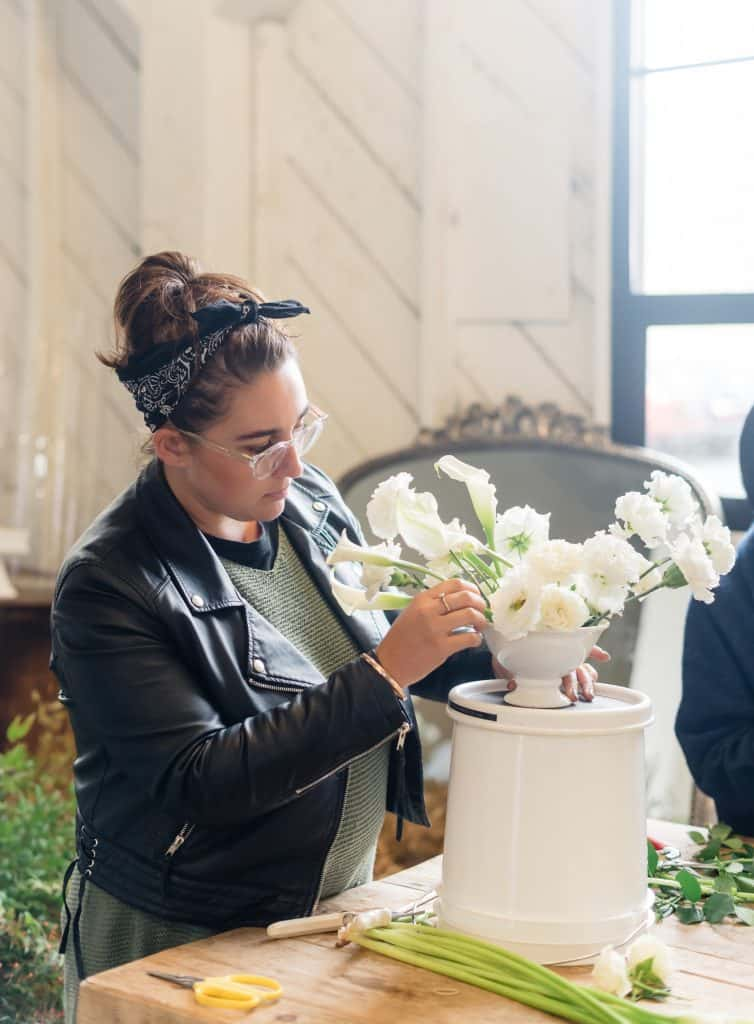 sydney flower workshop wedding diy styling