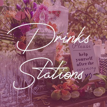 sydney wedding hire packages drinks stations