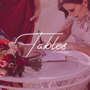 sydney wedding hire table white package price