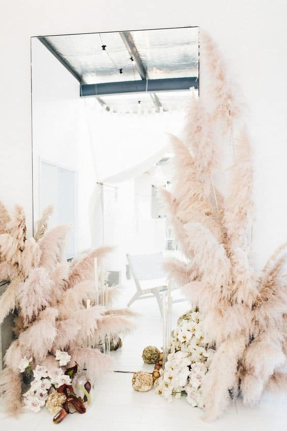 Sydney wedding pampas grass trend florist