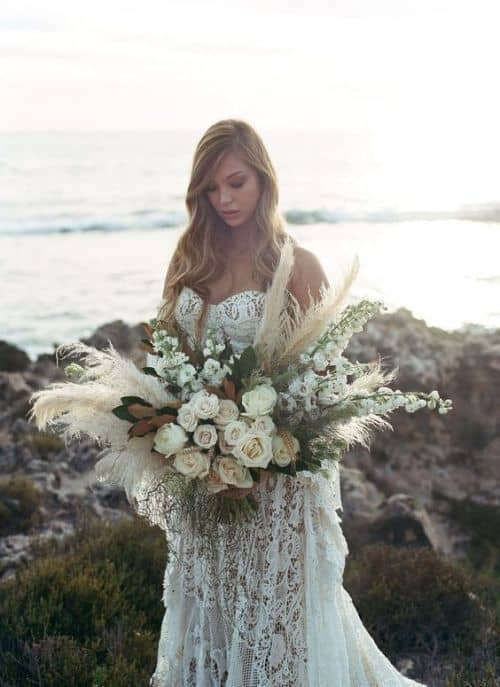 sydney wedding florist pampas grass
