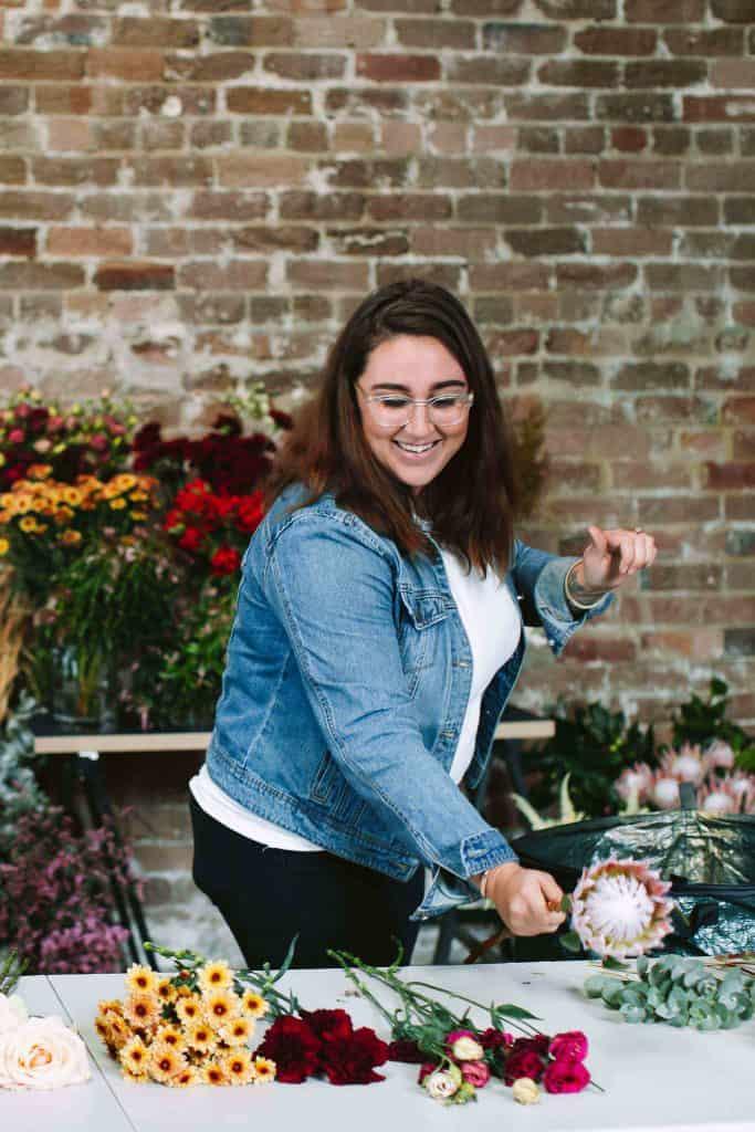 sydney flower floristry workshop school diy 14