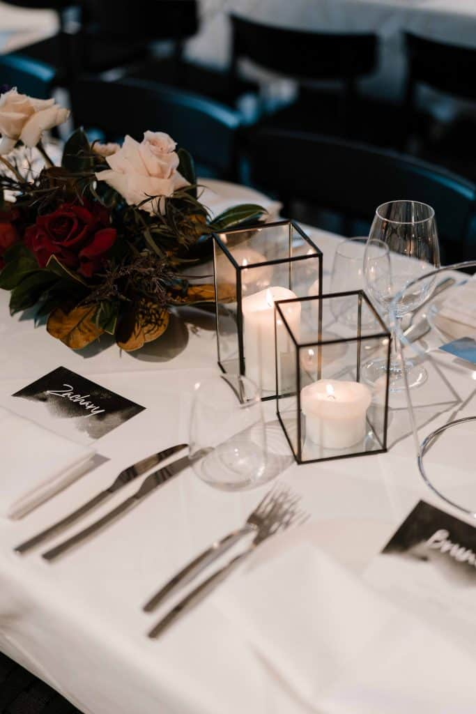 Oliveto-Ristorante-Bar-rhodes-wedding-styling-black-candle-holder-hire-sydney