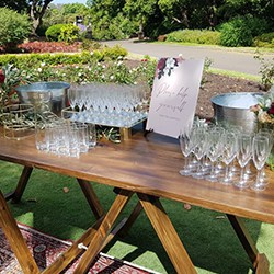 Full Drinks Station (supply your own alcoholic beverages)