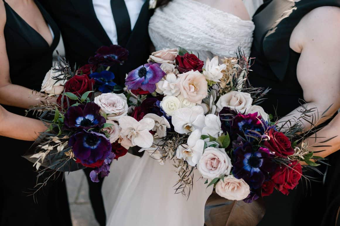 sydney-wedding-palm-house-botanic-gardens-ceremony-hire-bouquet-moody-bridesmaid
