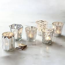 Silver Tea Light Holders -  assorted styles