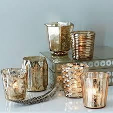 Gold Tea Light Holders - assorted style